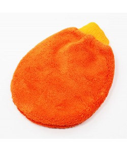 GANT DE LAVAGE ORANGE