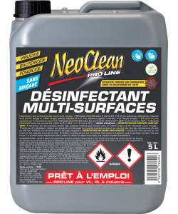 DÉSINFECTANT MULTI-SURFACES 5L